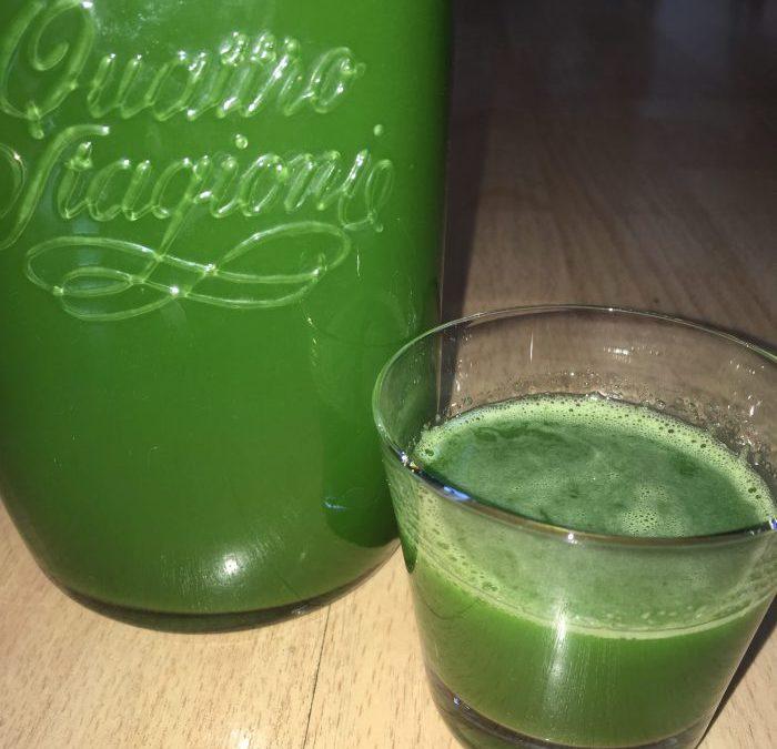 Jus très vert
