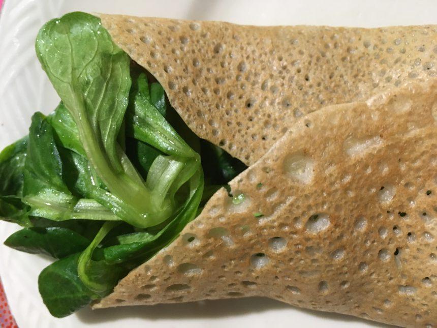 Crèpes sans gluten / produits laitiers