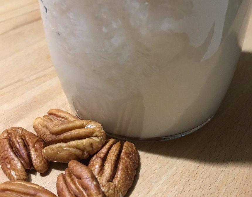 Lait de noix de pécan